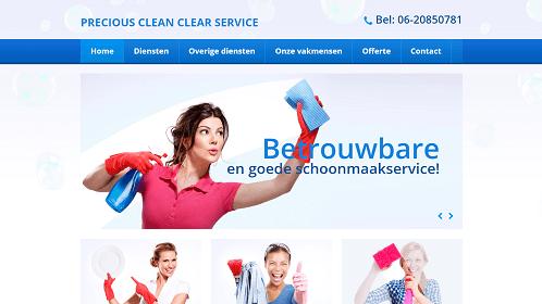 Precious Clean Clear Service